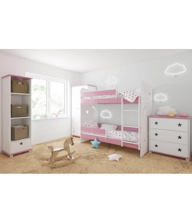 Łóżko CLASSIC z dwoma szufladami