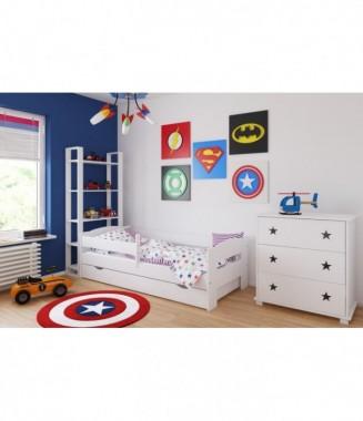 Pościel dziecięca - Komplet 5 elementów - Różne wzory i kolory.