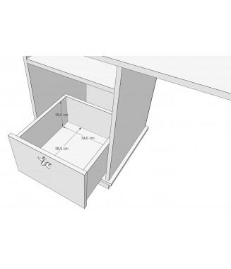 Regał z szufladą - DOMEK