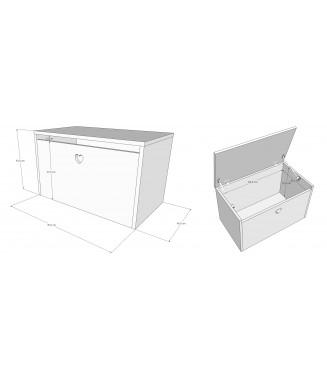 Łóżko Filip bez szuflady