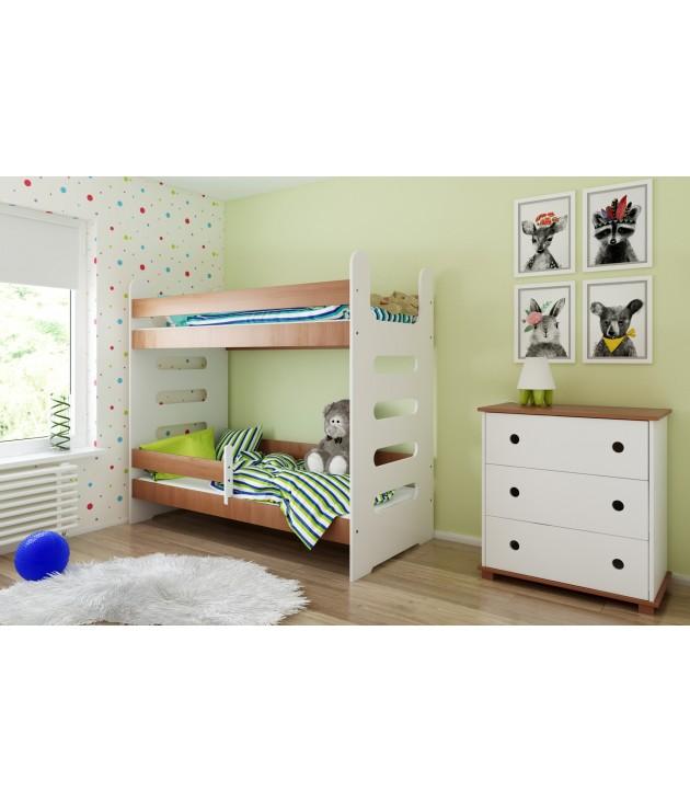 Łóżko piętrowe Mati bez szuflady